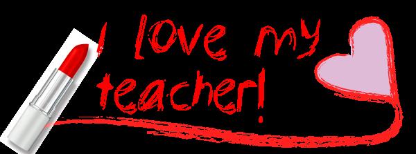 Kết quả hình ảnh cho i love you my teacher